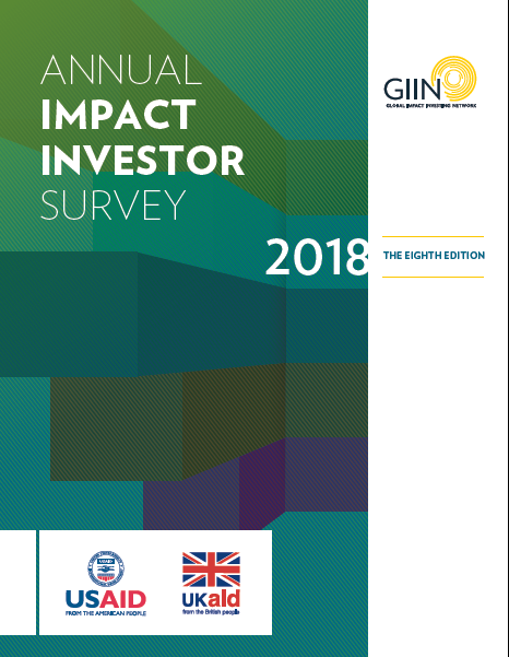 GIIN Annual Impact Investor Survey Shows Evidence Of Dynamic